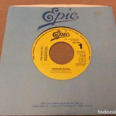 Discos de vinilo: THE RAVE-UPS. FREEDOM BOUND. PROMOCIONAL , EPIC 1988.. Lote 181016501