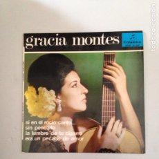 Discos de vinil: GRACIA MONTES. Lote 181018128