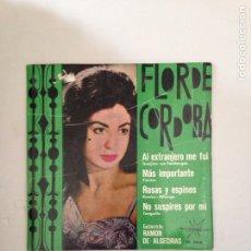 Discos de vinil: FLOR DE CÓRDOBA. Lote 181025386