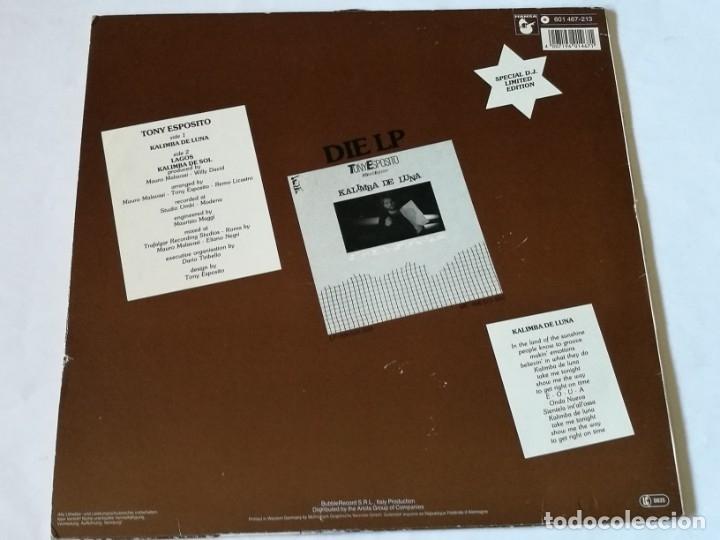 Discos de vinilo: Tony Esposito - Kalimba De Luna - 1984 - Foto 2 - 181026223