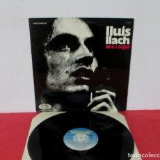 Disques de vinyle: LLUIS LLACH - ARA I AQUÍ - LP - FONOMUSIC 1984 SPAIN 89.2045/9 EXCELENTE. Lote 181029235