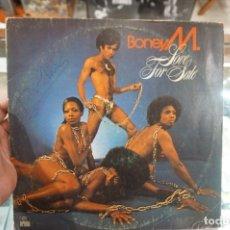 Disques de vinyle: LP - BONEY M / LOVE FOR SALE / ARIOLA 28 888-1. Lote 181033461