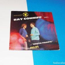 Discos de vinilo: RAY CONNIFF --SOUTH PACIFIC --EDICION FRANCESA 1969 ***COL***. Lote 181034305
