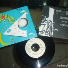 Discos de vinilo: ZOMBIES SINGLE GROENLANDIA POP 80S MOVIDA SPANISH PROMO W/L SPAIN MINT. Lote 181037788