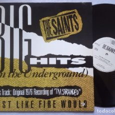 Dischi in vinile: THE SAINTS - BIG HITS ON THE UNDERGROUND - US EP 12 33 PROMOCIONAL 1987 - TVT. Lote 181069921