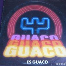 Discos de vinilo: GUACO...ES GUACO LP SONOGRAFICA VENEZUELA 1984 - SALSA SONERO GAITA - VINILO SIN APENAS USO. Lote 181070637