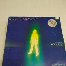 Discos de vinil: RYAN SIMMONS – LUCKY GUY. Lote 181073246