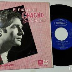 Disques de vinyle: EP-CHACHO Y SUS RUMBAS-SI SUPIERAS-1966-SPAIN-. Lote 217532783