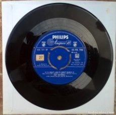 Discos de vinilo: '/ IF YA DON'T LIKE IT DON'T KNOCK IT. PHILIPS, UK 1958 SINGLE. Lote 181079995