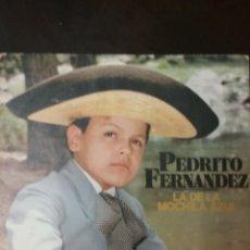 Disques de vinyle: PEDRITO FERNÁNDEZ. SINGLE. SELLO CBS. EDITADO EN ESPAÑA. AÑO 1978. Lote 181090612