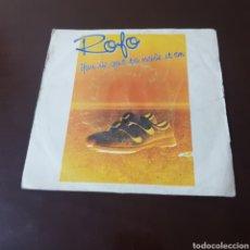Discos de vinilo: ROFO YOU 'VE GOT MOVE IT ON 45 R.P.M. SINGLE. Lote 181092615