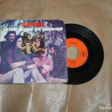 Disques de vinyle: SAFARI, ESTOY HECHO UN DEMONIO, SINGLE, EDITADO POR CBS, AÑO 1971. Lote 181100800
