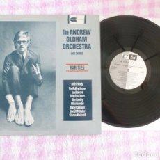 Discos de vinilo: ANDREW OLDHAM ORCHESTRA AND CHORUS RARITIES LP VINILO EXC+. Lote 181101471