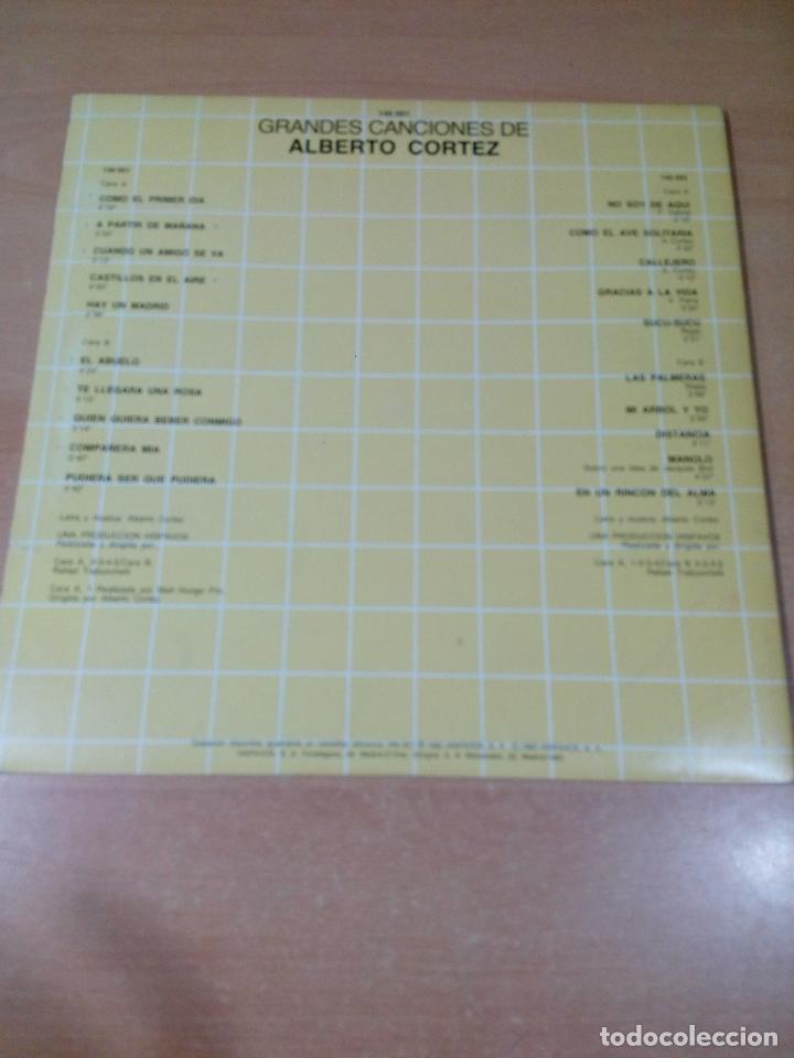 Discos de vinilo: grandes canciones de alberto cortez - 2 lp - carpeta abierta - buen estado - ver fotos - Foto 2 - 181102443