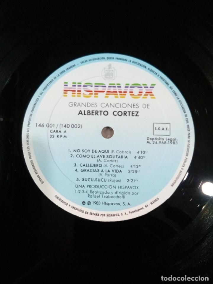 Discos de vinilo: grandes canciones de alberto cortez - 2 lp - carpeta abierta - buen estado - ver fotos - Foto 5 - 181102443