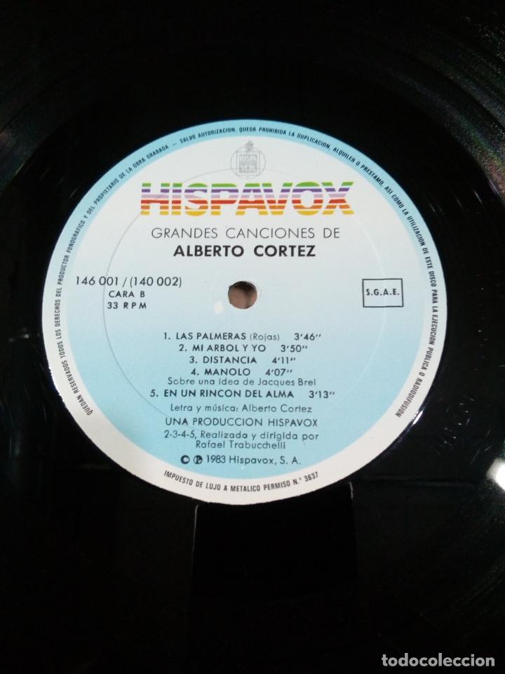 Discos de vinilo: grandes canciones de alberto cortez - 2 lp - carpeta abierta - buen estado - ver fotos - Foto 7 - 181102443