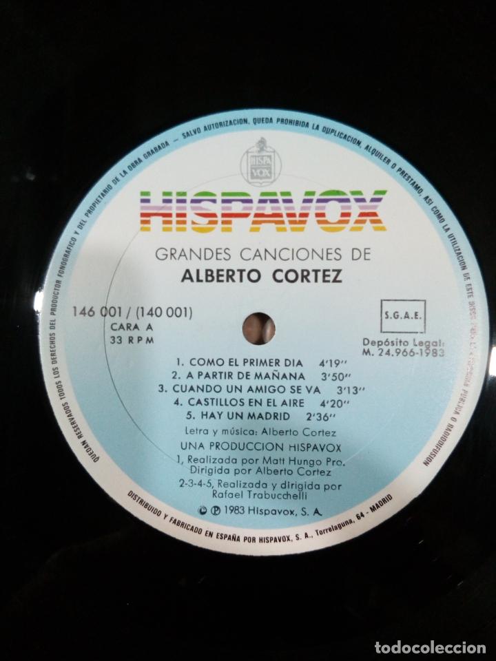Discos de vinilo: grandes canciones de alberto cortez - 2 lp - carpeta abierta - buen estado - ver fotos - Foto 9 - 181102443