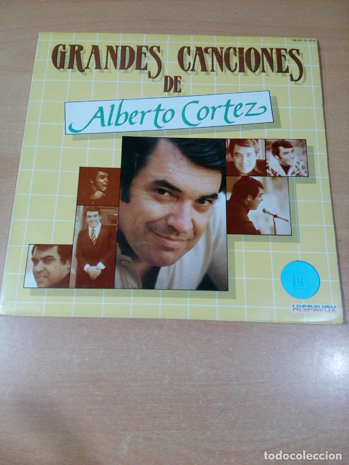 GRANDES CANCIONES DE ALBERTO CORTEZ - 2 LP - CARPETA ABIERTA - BUEN ESTADO - VER FOTOS (Música - Discos - LP Vinilo - Grupos Españoles de los 70 y 80)