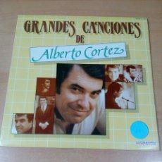 Discos de vinilo: GRANDES CANCIONES DE ALBERTO CORTEZ - 2 LP - CARPETA ABIERTA - BUEN ESTADO - VER FOTOS . Lote 181102443