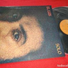 Discos de vinilo: EL LUIS SOLO LP 1978 EPIC GATEFOLD RUMBA RUMBAS EXCELENTE ESTADO. Lote 181103071