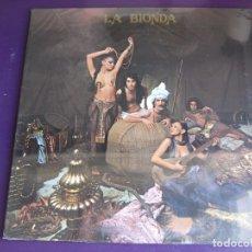 Discos de vinilo: LA BIONDA LP HISPAVOX 1978 PRECINTADO - ITALODISCO - ELECTRONICA DISCO 70'S - SEXY NUDE COVER. Lote 181103113