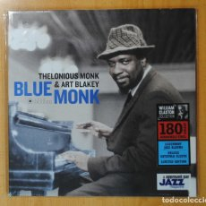 Discos de vinilo: THELONIOUS MONK & ART BLAKEY - BLUE MONK - LP. Lote 181105325