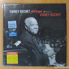 Discos de vinilo: SIDNEY BECHET - SIDNEY BECHET PLAYS SIDNEY BEHET - LP. Lote 181105401