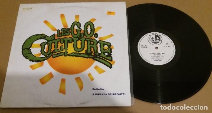 LES G.O. CULTURE / NANANA / MAXI-SINGLE 12 INCH (Música - Discos de Vinilo - Maxi Singles - Techno, Trance y House)