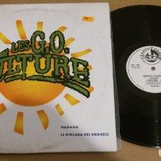 Discos de vinilo: LES G.O. CULTURE / NANANA / MAXI-SINGLE 12 INCH. Lote 181106618