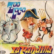Discos de vinilo: X- ENVÍO CERTIFICADO - SINGLE LA PANDILLA - MOVIE PLAY 1972 -. Lote 181106757