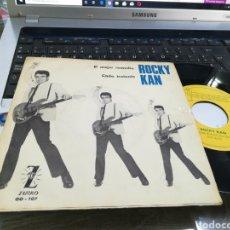 Discos de vinilo: ROCKY KAN SINGLE EL MEJOR REMEDIO 1965 /2. Lote 181115663