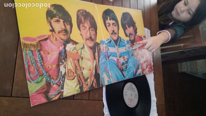 Discos de vinilo: THE BEATLES LP. SERGEANT PEPPERS LONELY HEARTS CLUB BAND MADE IN SPAIN 1967 ODEON 064-1041771 - Foto 2 - 181116605