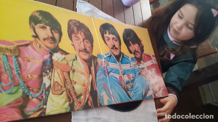 Discos de vinilo: THE BEATLES LP. SERGEANT PEPPERS LONELY HEARTS CLUB BAND MADE IN SPAIN 1967 ODEON 064-1041771 - Foto 3 - 181116605