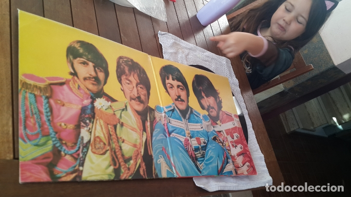Discos de vinilo: THE BEATLES LP. SERGEANT PEPPERS LONELY HEARTS CLUB BAND MADE IN SPAIN 1967 ODEON 064-1041771 - Foto 4 - 181116605
