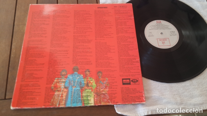 Discos de vinilo: THE BEATLES LP. SERGEANT PEPPERS LONELY HEARTS CLUB BAND MADE IN SPAIN 1967 ODEON 064-1041771 - Foto 5 - 181116605