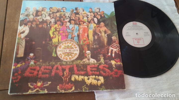 THE BEATLES LP. SERGEANT PEPPER'S LONELY HEARTS CLUB BAND MADE IN SPAIN 1967 ODEON 064-1041771 (Música - Discos - LP Vinilo - Pop - Rock Extranjero de los 50 y 60)
