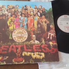 Discos de vinilo: THE BEATLES LP. SERGEANT PEPPER'S LONELY HEARTS CLUB BAND MADE IN SPAIN 1967 ODEON 064-1041771. Lote 181116605