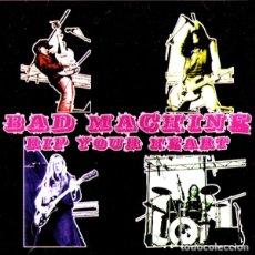 Discos de vinilo: BAD MACHINE RIP YOUR HEART LP . PUNK ROCK HELLACOPTERS TURBONEGRO GLUECIFER . Lote 181123133