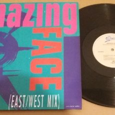 Discos de vinilo: AMAZING FACE / REUNITED (EAST/WEST MIX) / MAXI-SINGLE 12 INCH. Lote 181127942