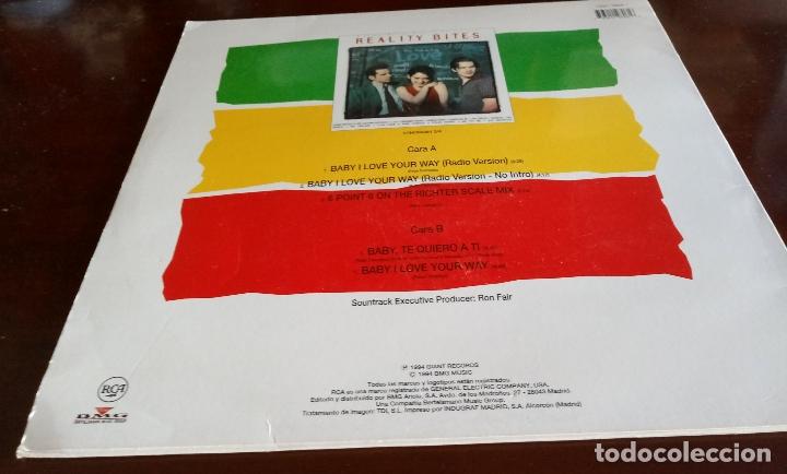 Discos de vinilo: BIG MOUNTAIN - BABY I LOVE YOUR WAY - MAXI SINGLE.12 - 1994 - Foto 2 - 181130285