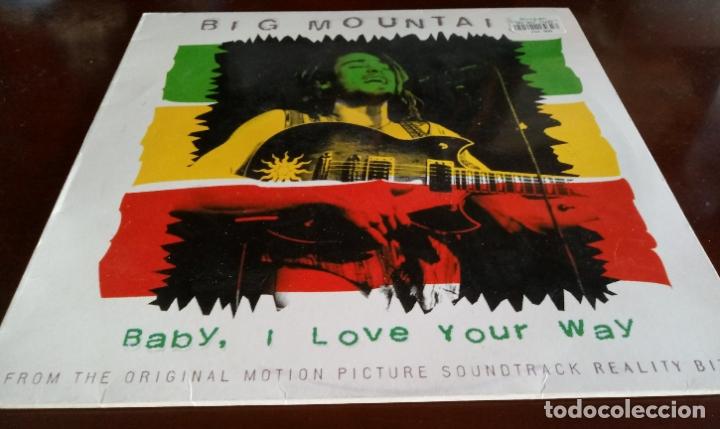 BIG MOUNTAIN - BABY I LOVE YOUR WAY - MAXI SINGLE.12 - 1994 (Música - Discos de Vinilo - Maxi Singles - Reggae - Ska)