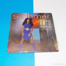 Discos de vinilo: DONNA SUMMER - LOVE IS IN CONTROL / SOMETIMES LIKE BUTTERFLIES -- EDICION 1982 - ( NM OR ( M-). Lote 181132537