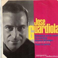 Discos de vinilo: ENVÍO CERTIFICADO - EP JOSÉ GUARDIOLA - VERGARA 1966 -. Lote 181135566