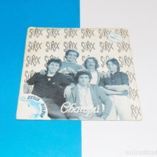 Discos de vinilo: LOS SIREX ---- CHAMPU / TENGO UN PROPOSITO. Lote 181136238