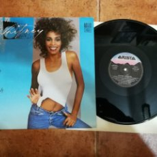 Discos de vinilo: WHITNEY HOUSTON I WANNA DANCE WITH SOMEBODY (WHO LOVES ME) MAXI SINGLE VINILO 1987 ESPAÑA 3 TEMAS. Lote 181143275