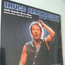 Discos de vinilo: LP ÁLBUM DISCO VINILO BRUCE SPRINGSTEEN LIVE ESTADIO RIVER PLATE ARGENTINA NUEVO. Lote 181146961