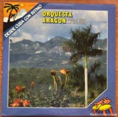Discos de vinilo: ORQUESTA ARAGÓN // BAILA CON LA ARAGÓN // SERIE DESDE CUBA CON RITMO // ESPAÑA. 1987. Lote 181157551