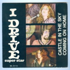 Discos de vinilo: NUMULITE S004 I DRIVE CASTLE IN THE SKY COMING ON HOME SUPER STAR . Lote 181163242