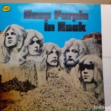 Discos de vinilo: LP DEEP PURPLE IN ROCK AÑO 1970 EN FUNDA ORIGINAL . Lote 181171171