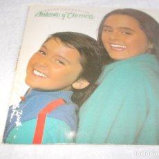 Discos de vinilo: ANTONIO Y CARMEN ENTRE COCODRILOS. Lote 181173690
